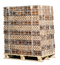 PINI KAY Holzbriketts 96 Säcke von 10 kg